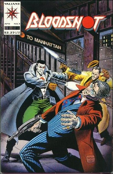 Bloodshot (1993) 3-A by Valiant