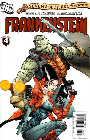 Seven Soldiers: Frankenstein 4-A by DC