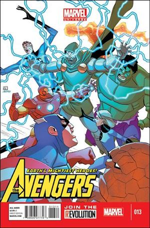 Avengers Earth's Mightiest Heroes (2012) 13-A