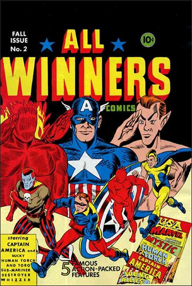 All-Winners Comics (1941) 2-A by Marvel