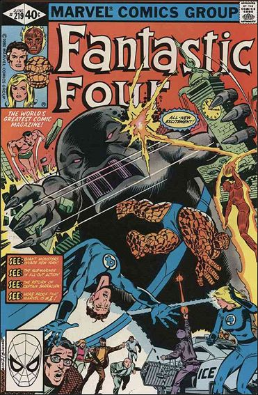 Fantastic Four (1961) 219-A by Marvel
