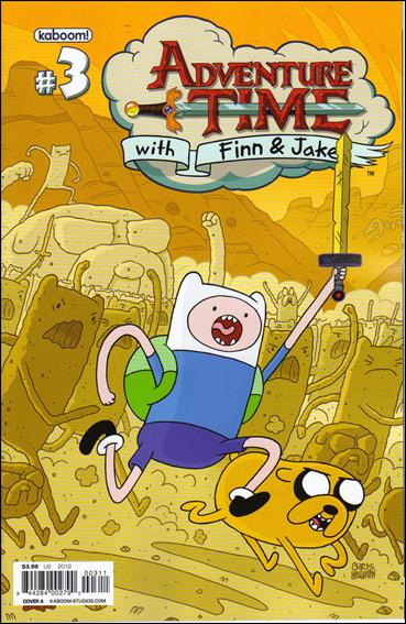 Adventure Time 3-A by Kaboom!