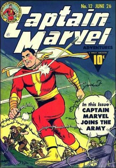 Captain Marvel Adventures 12-A by Fawcett