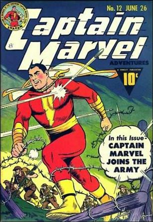 Captain Marvel Adventures 12-A