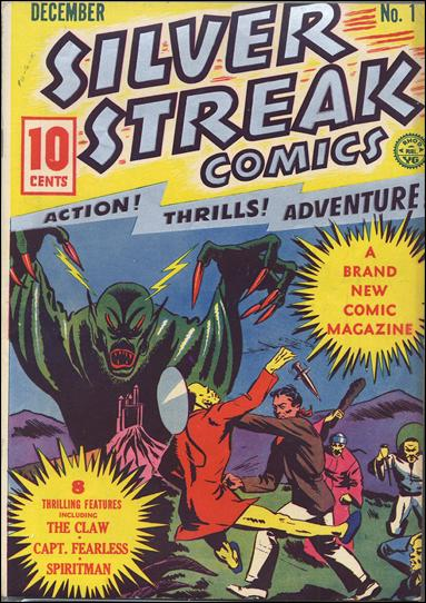 Silver Streak Comics (1939) 1-A by Lev Gleason Productions