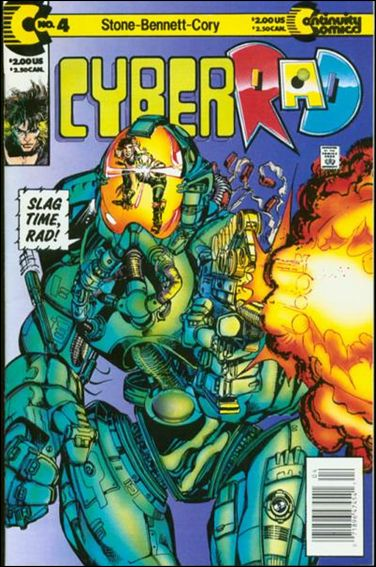 CyberRad (1991) 4-A by Continuity Comics