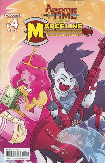 Adventure Time: Marceline and the Scream Queens 4-B by Kaboom!