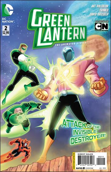 Green Lantern: The Animated Series 2-A by DC