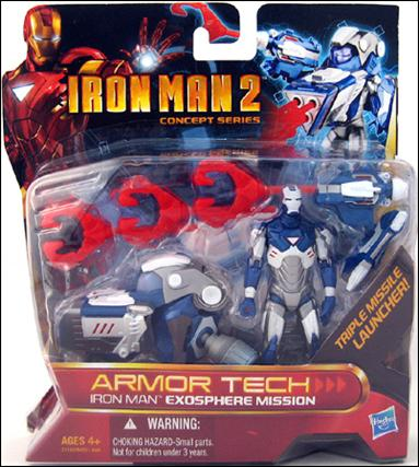 Iron Man 2 (Armor Tech) Iron Man - Exosphere Mission (Concept Series) by Hasbro