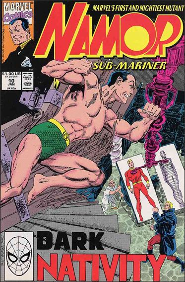 Namor: The Sub-Mariner 10-A by Marvel