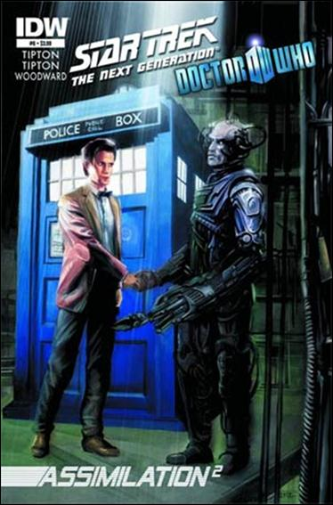 Star Trek: The Next Generation / Doctor Who: Assimilation2 6-A by IDW