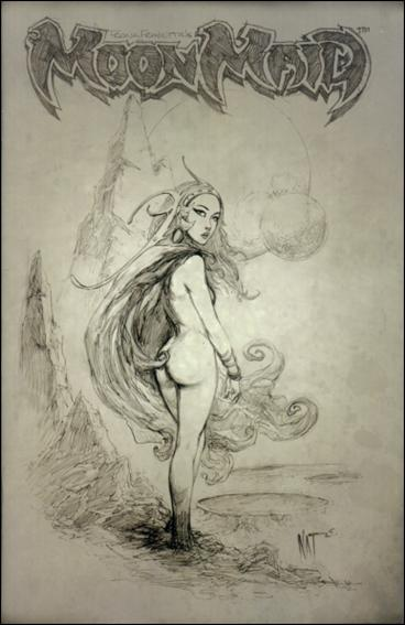 Frank Frazetta's Moon Maid 1-C by Image