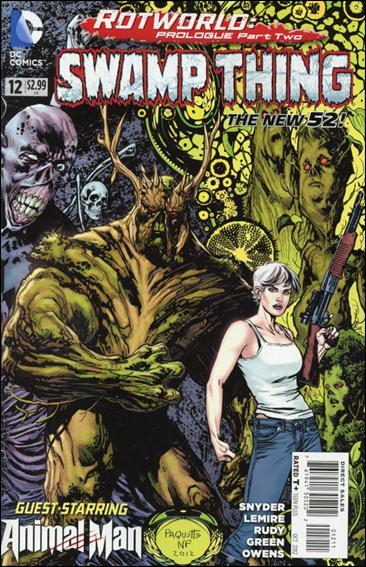 Swamp Thing (2011) 12-A by DC