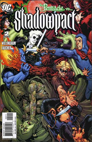 Shadowpact 2-A by DC