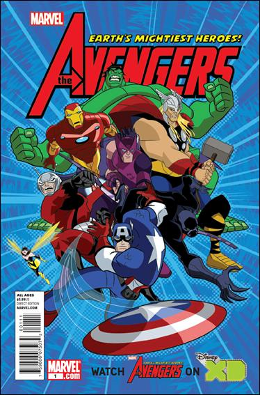 Avengers: Earth's Mightiest Heroes (2011) 1-A by Marvel