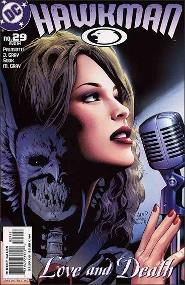 Hawkman (2002) 29-A by DC
