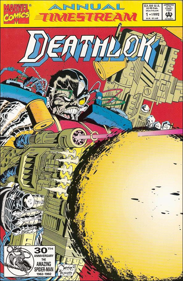 Deathlok Annual 1-A by Marvel