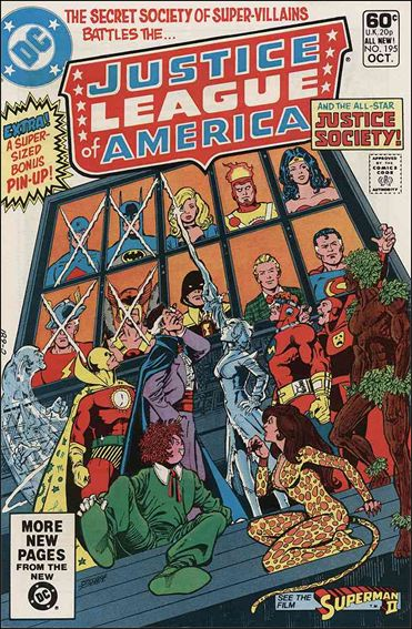 Justice League of America (1960) 195-A by DC