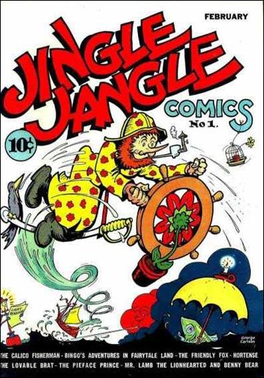 Jingle Jangle Comics 1-A by Eastern Color