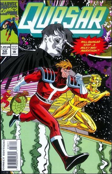 Quasar 58-A by Marvel
