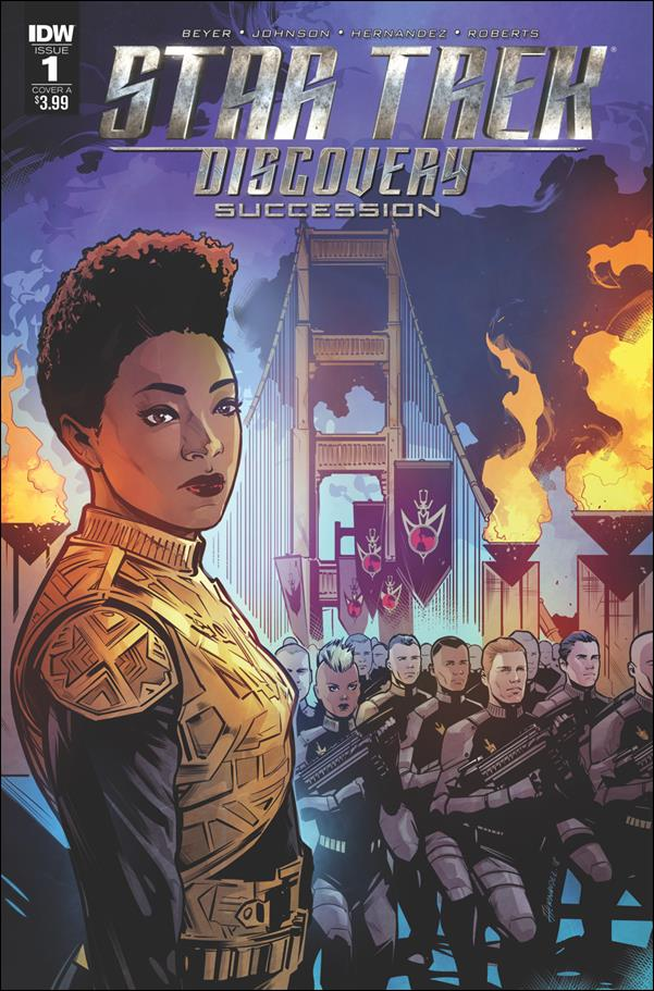 Star Trek Discovery: Succession 1-A by IDW