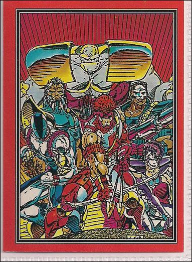 Youngblood: Series 1 (Base Set) 4-A by Comic Images
