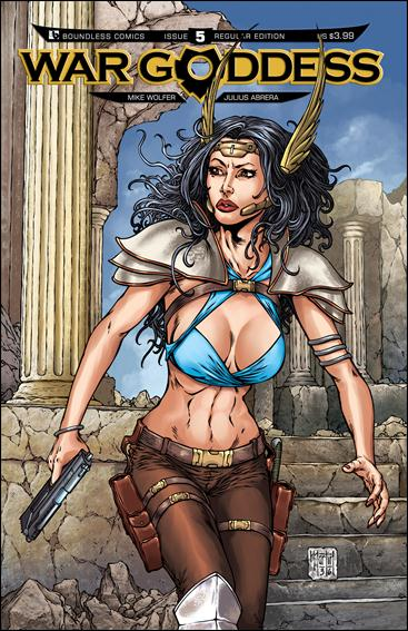 War Goddess 5-A by Boundless Comics