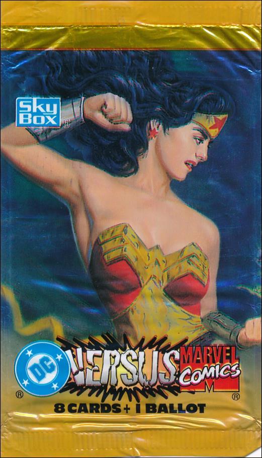 DC Versus Marvel / Marvel Versus DC 2-A by SkyBox