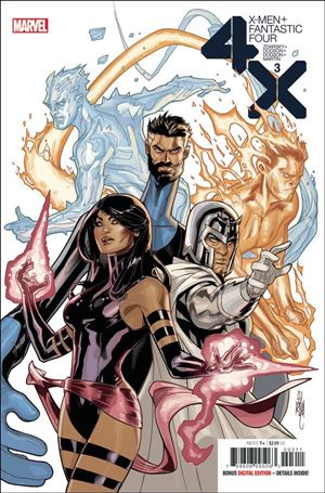 X-Men/Fantastic Four (2020) 3-A
