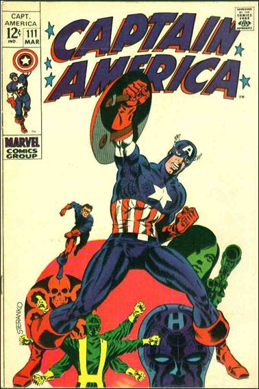 Captain America (1968) 111-A by Marvel