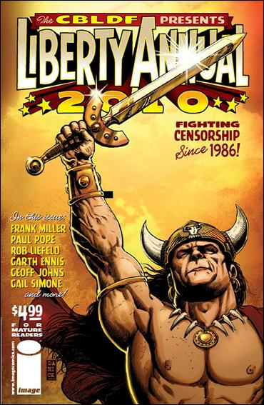 CBLDF Presents Liberty Annual 2010-B by Image