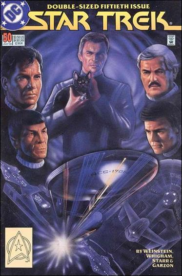Star Trek (1989) 50-A by DC