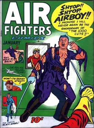 Air Fighters Comics (1943) 4-A