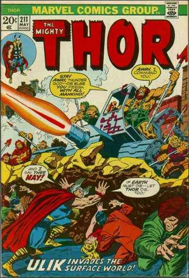 Thor (1966) 211-A by Marvel