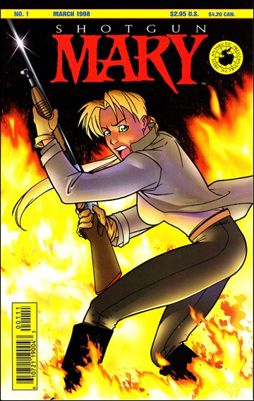 Shotgun Mary (1998) 1-A by Antarctic Press