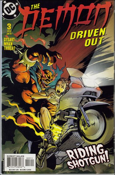 Demon: Driven Out 3-A by DC