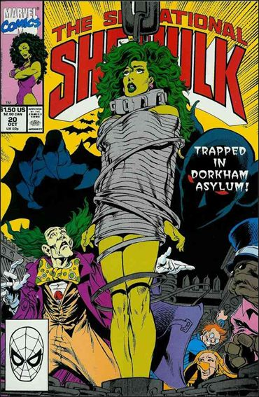 Sensational She-Hulk 20-A by Marvel