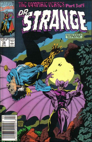 Doctor Strange, Sorcerer Supreme 16-A by Marvel