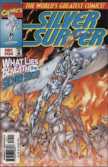 Silver Surfer (1987) 134-A by Marvel