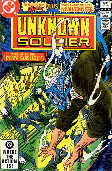 Unknown Soldier (1977)  263-A by DC