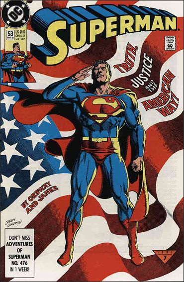 Superman (1987) 53-A by DC