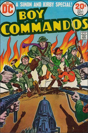 Boy Commandos (1973) 1-A by DC