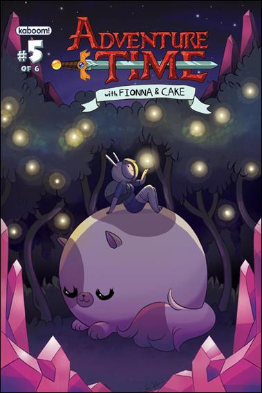 Adventure Time with Fionna and Cake 5-A by Kaboom!