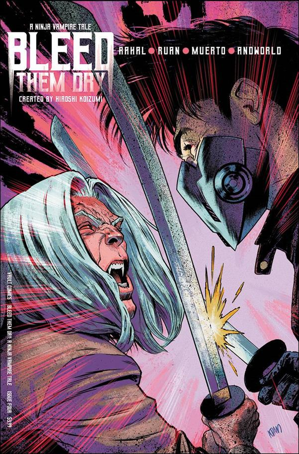 Bleed Them Dry 4-B by Vault Comics