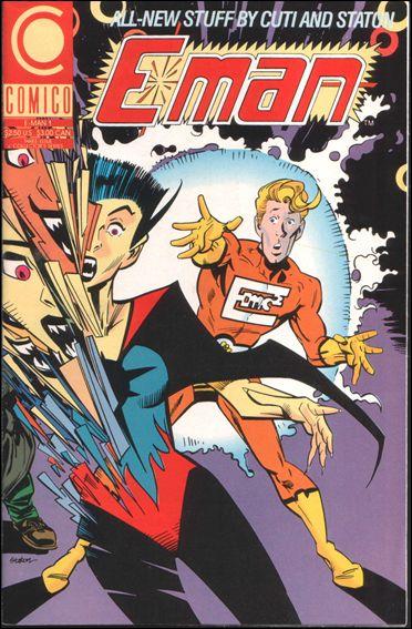 E-Man (1990) 1-A by Comico