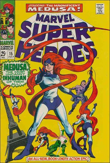 Marvel Super-Heroes (1967) 15-A by Marvel