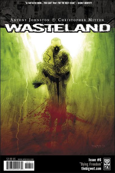 Wasteland (2006) 6-A by Oni Press
