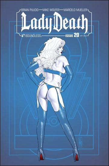 Lady Death (2010) 20-D by Boundless Comics