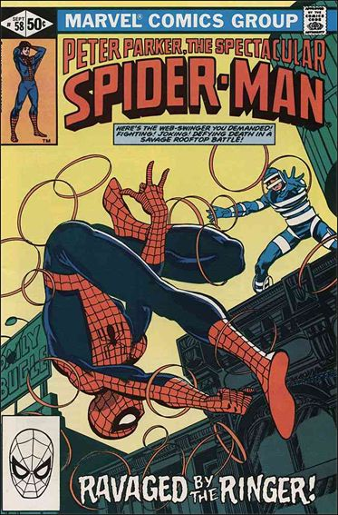 Spectacular Spider-Man (1976) 58-A by Marvel