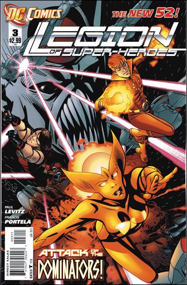 Legion of Super-Heroes (2011) 3-A by DC
